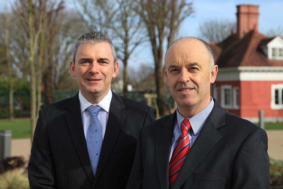 Liam O'Brien and John Crowley, Principals at Reeftan